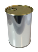 Seamed-lid cans