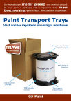 Paint Transport Trays product leaflet