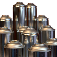 Tin cans for aerosols