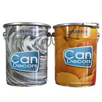 Conical tin can packaging