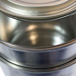 Ringless closure for conical paint cans