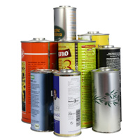 Tin cans for liquids