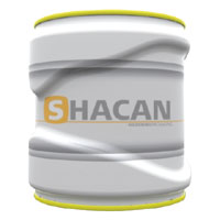 Shaped tin can