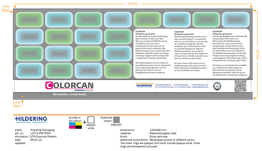 Colorcan print pattern