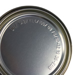 Adhesive lid with UN approval